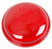 Butler Type Marker Lamp Lense (Red)
